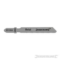 5 lames de scie sauteuse pour le métal ST118A