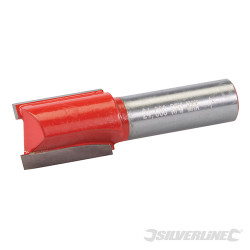Fraise droite de 12 mm métrique 18 x 25 mm