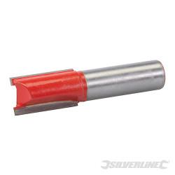Fraise droite de 12 mm métrique 15 x 25 mm