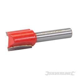 Fraise droite de 8 mm métrique 15 x 20 mm