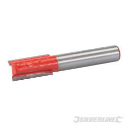 Fraise droite de 8 mm métrique 10 x 20 mm