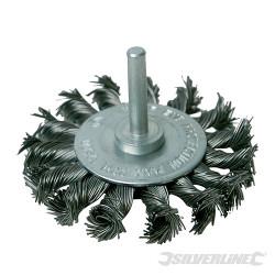 Roue à fils d'acier torsadés 75 mm
