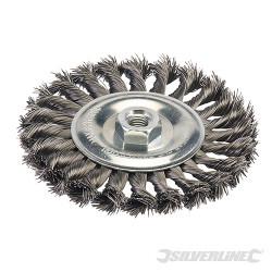 Roue à fils d'acier torsadés 150 mm