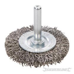 Roue à fils d'acier inox 50 mm