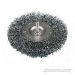 Roue à fils d'acier ondulés 75 mm