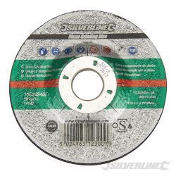 Disque à meuler la pierre certifié OSA 115 x 6 x 22,23 mm