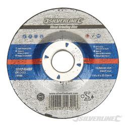 Disque à meuler le métal certifié OSA 115 x 6 x 22,3 mm
