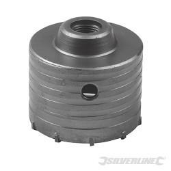 Scie trépan carbure de tungstène 80 mm