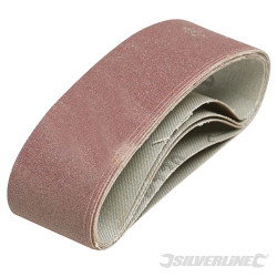 5 bandes abrasives 40 x 305 mm Grain 40