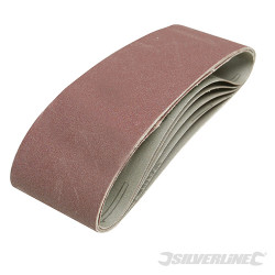 5 bandes abrasives 75 x 533 mm Grain 40