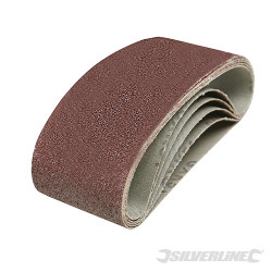 5 bandes abrasives 60 x 400 mm Grain 40