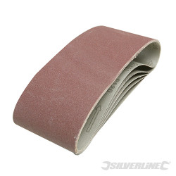 5 bandes abrasives 100 x 610 mm Grain 40