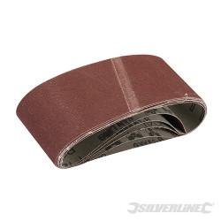 5 bandes papier de verre 65 x 410 mm Grain 120