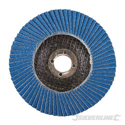 Disque à lamelles en zirconium 100 mm Grain 80