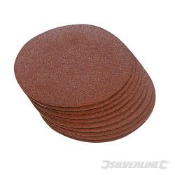 10 disques abrasifs auto-agrippants 250 mm Grain 60