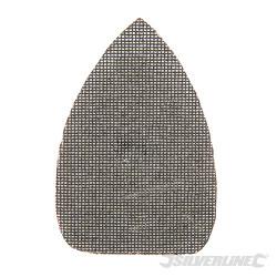 Lot de 10 triangles abrasifs treillis auto-agrippants 140 x 100 mm Grain 80