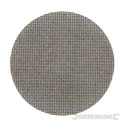 Lot de 10 disques abrasifs treillis auto-agrippants 150 mm Grain 180