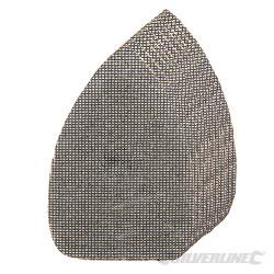 Lot de 10 triangles abrasifs treillis auto-agrippants  140 x 100 mm Grains assortis