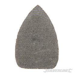 Lot de 10 triangles abrasifs treillis auto-agrippants 150 x 100 mm Grain 180