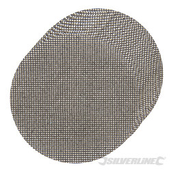 Lot de 10 disques abrasifs treillis auto-agrippants 225 mm Grains assortis