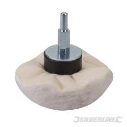 Tampon de polissage dôme 85 mm