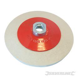 Disque à lustrer en feutre, conique 115 mm