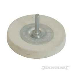 Disque en feutre 100 mm - Moyen