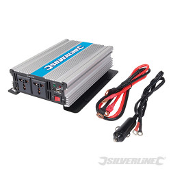 Onduleur 12 V 1 000 W (Prise simple)