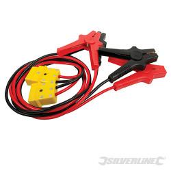 Câbles de démarrage à protection anti-surtension 400 A max. 3 m