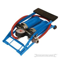 Pompe à pied double, usage intensif 470 cm³