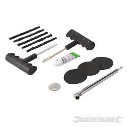 Coffret pour réparation des pneus Kit de réparation