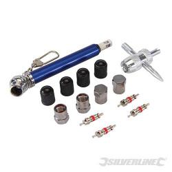 Coffret 14 pièces de réparation de pneus 0,6 - 3,5 bar