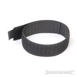 10 serre-câbles autoagrippants 300 mm noir