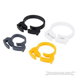 Colliers de serrage pour câbles/tuyaux 20 pcs