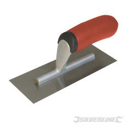 Mini-platoir de plâtrier poignée caoutchoutée 200 mm
