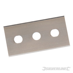 10 lames double extrémité pour grattoir 0,2 mm