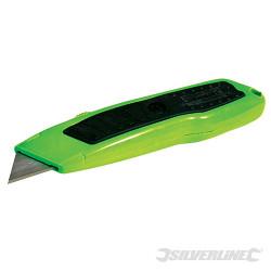 Cutter fluo Expert à lame rétractable 150 mm