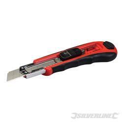 Cutter à lame sécable auto-rechargeable 18 mm 18 mm