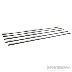 Bas de porte usage intensif aluminium 4 x 1 029 mm et 1 x 914 mm