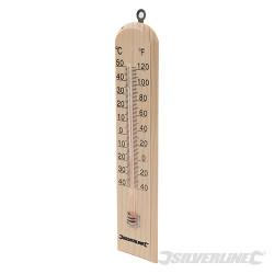 Thermomètre en bois -40°C à +50°C