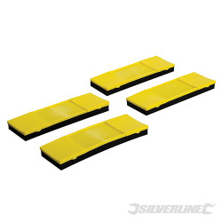Lot de 4 protections à attaches pour sangle 4 pcs