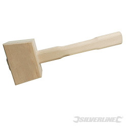 Maillet en bois Surface de frappe 115mm
