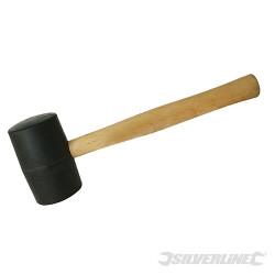 Maillet caoutchouc noir 680 g