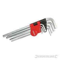 Jeu de 10 clés mâles Expert 1,5 - 10 mm