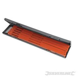 100 lames acier cobalt pour scie à métaux 18 TPI