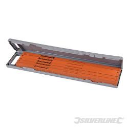 100 lames acier cobalt pour scie à métaux 24 TPI