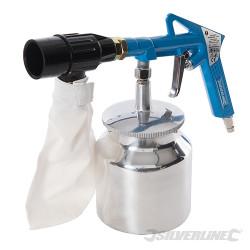 Kit de sablage avec système de récupération d'abrasif 6 pcs 3 – 4 bar