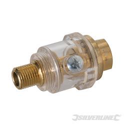 Mini-graisseur de ligne pour outils pneumatiques BSP 1/4
