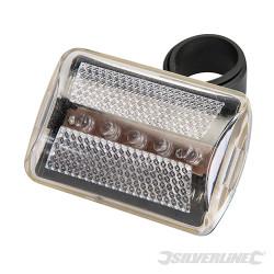 Éclairage de vélo 5 LED Incolore