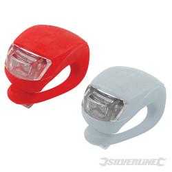 Lampes LED avec attache Lot de 2